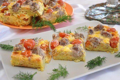 Картофельная запеканка с фрикадельками в духовке рецепты