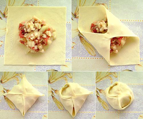 Как делаются манты рецепт с пошагово